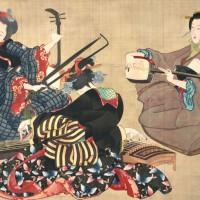 Japonų muzikos instrumentai