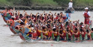 TAIWAN-CULTURE-DRAGON BOATS FESTIVAL SY208