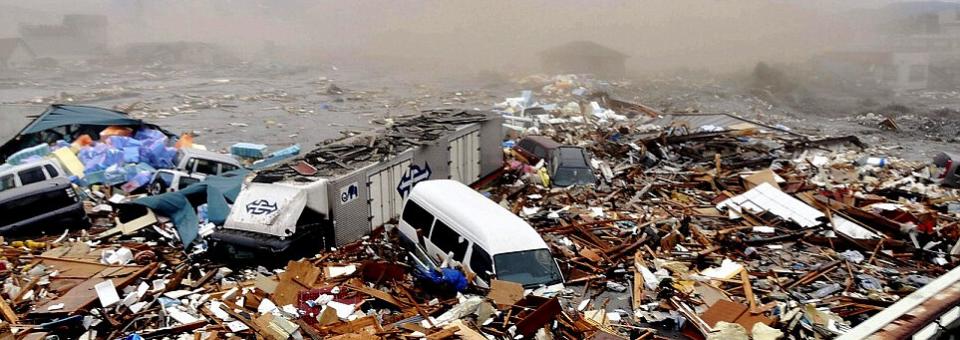 Tohoku regiono Ramiojo vandenyno pakrantės žemės drebėjimas ir cunamis